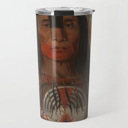 Buffalo Bull's Back Fat, Head Chief, Blood Tribe Travel Mug