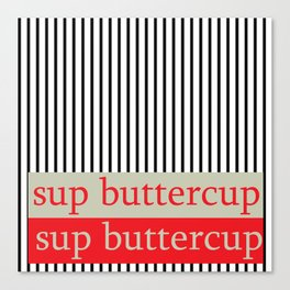 sup buttercup III Canvas Print
