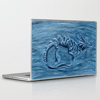 warcraft Laptop & iPad Skins featuring Wind Dragon by BevyArt