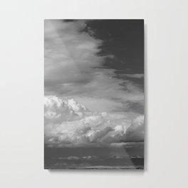 Bookcliffs b/w 2.0 Metal Print