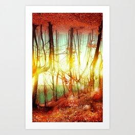 Endless Forest Art Print