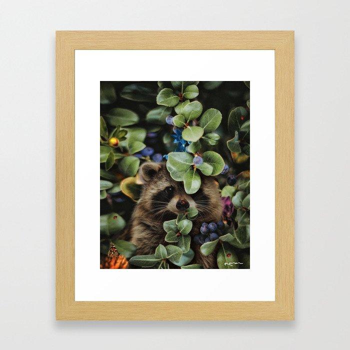 don't wait until heaven to bloom Framed Art Print