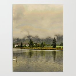 Almsee Lake, Austria Landscape Poster
