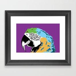 STATIONERY CARD - Parrot Framed Art Print