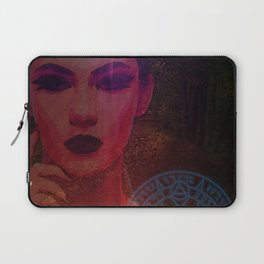 Dark Lady of the Forest of the Damned Laptop Sleeve