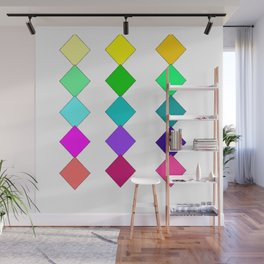 diamonds of color Wall Mural