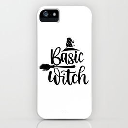 Basic Witch iPhone Case