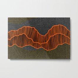 Authentic Aboriginal Art - Metal Print