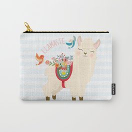 Llamaste - When A Llama Offers You A Respectful Greeting Carry-All Pouch