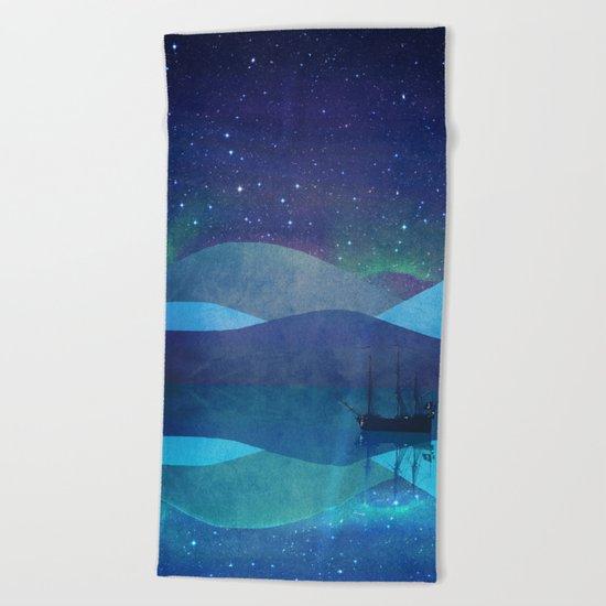 The North Pole Beach Towel