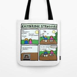 Cambridge struggles: Sun Tote Bag