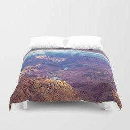 Grand Canyon and the Colorado River Duvet Cover