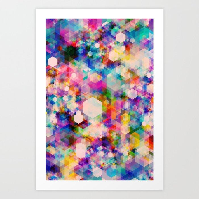 Bitmap Art Print