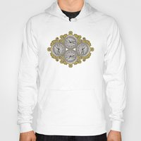 versace Hoodies featuring IV O'Clocks by Griffin Digital Image
