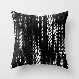 Weave Black Throw Pillow