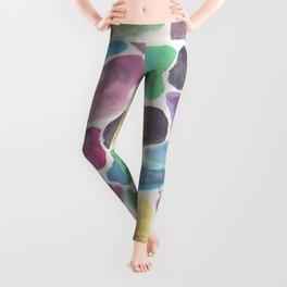 colorful pebbles. Leggings