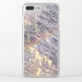 Rainbow in the Yard! Clear iPhone Case