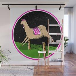 Llama dreamer Wall Mural