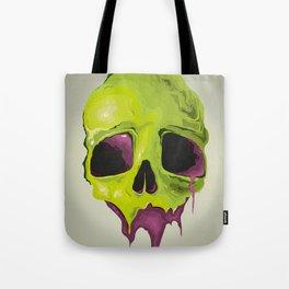 Liquid Skull Tote Bag