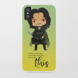 Not this day iPhone Case