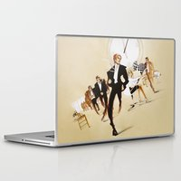 friday Laptop & iPad Skins featuring Friday by Xenia Ericovna