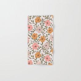 70s Floral Theme Hand & Bath Towel