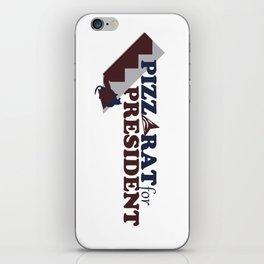 PizzaRat for President iPhone Skin