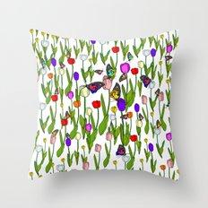 Garden of MAGIC Throw Pillow