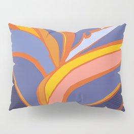 Bird Of Paradise Tropical Flower Pillow Sham