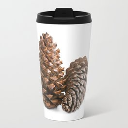 Two pinecones Travel Mug