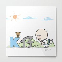 K Young-WC Metal Print