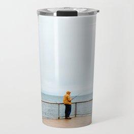 Coney Island Pier: Gone Fishing Travel Mug