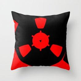 Reel of RecordingTape Throw Pillow