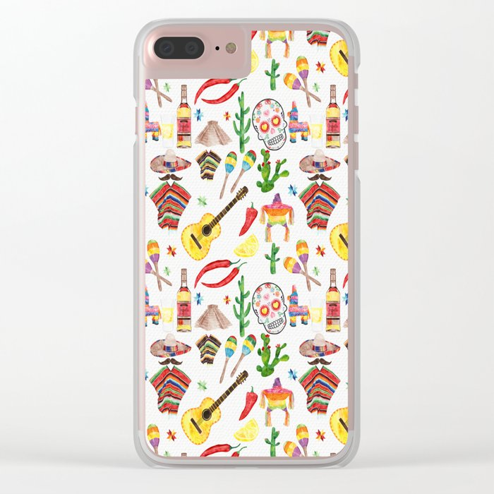 Hey Mexico Clear iPhone Case