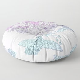 Hummingbirds Floor Pillow