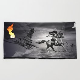 Musashi at Brunei Beach Towel