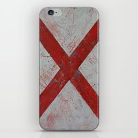 alabama iPhone & iPod Skins featuring Alabama by Michael Creese