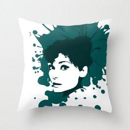 Spreadgirl hatgirl.de Throw Pillow