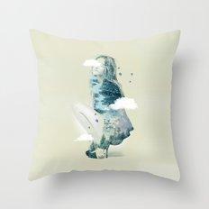 Natures Heart II Throw Pillow