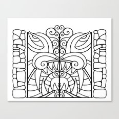 Threshold Guardian Canvas Print
