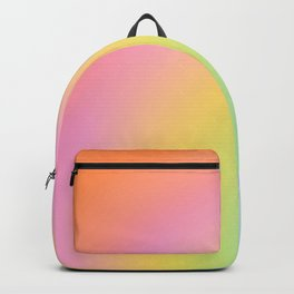 The Rainbow of Love #abstract #colourlove Backpack