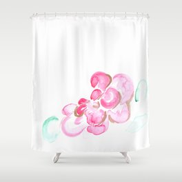 flora series ix Shower Curtain