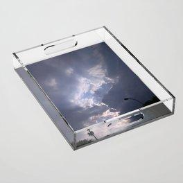 Cloud Rift Acrylic Tray