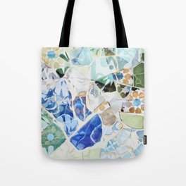 Mosaic of Barcelona VII Tote Bag