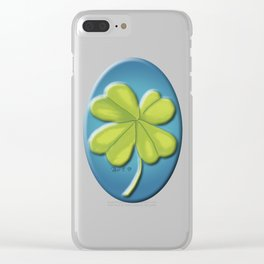 Clover Clear iPhone Case