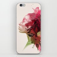 passion iPhone & iPod Skins featuring Passion by Magenda