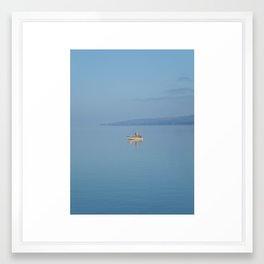Solo on Seneca Framed Art Print