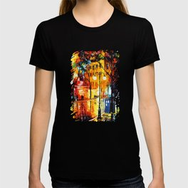Tardis Time Starry Night T-shirt