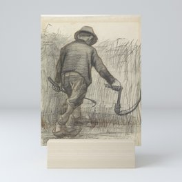 Peasant with Sickle Mini Art Print