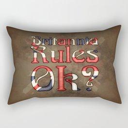 Britannia Rules Ok? Rectangular Pillow